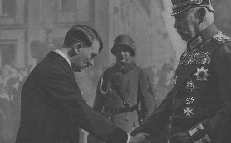 What did Hitler do his first week in power?