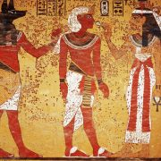 Why didn't ancient Egyptian wall paintings depict them wearing winter clothing, although modern day Egypt can get pretty cold in the winters?