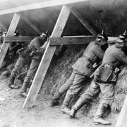 Why the German trenches of the Great War were higher in quality compared to the British trenches?