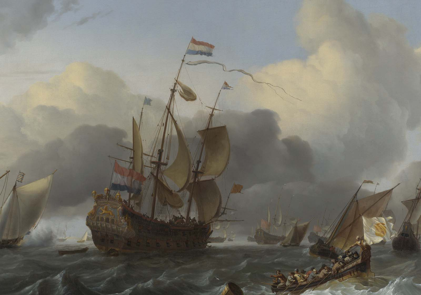 Why did the 1600s size of the Dutch merchant fleet exceed the combined fleets of England, France, Spain, Portugal, and Germany?
