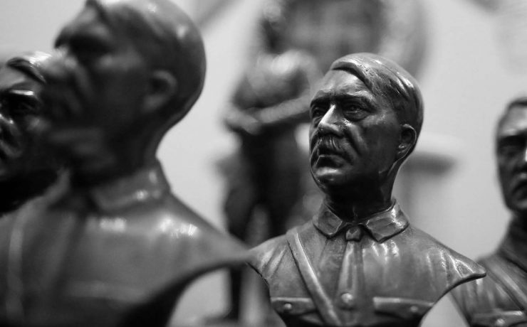 Why were there no Hitler statues in Nazi Germany?