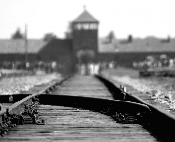 Did Hitler ever visit concentration camps?
