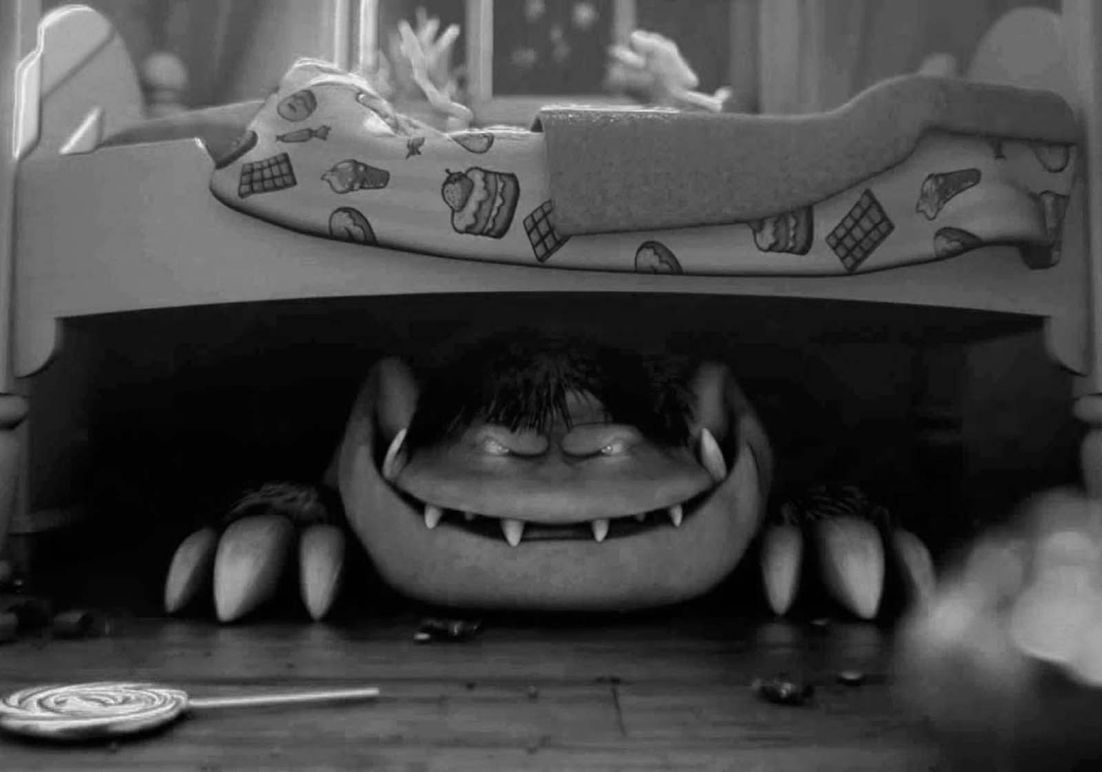 """How old is the myth of the """"monster under the bed""""?"""