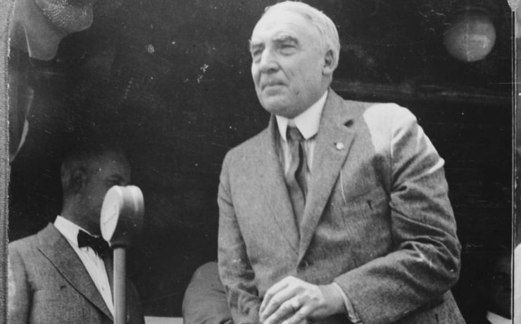 "Why U.S. presidential candidate Warren Harding campaigned on a ""return to normalcy""? What exactly was so abnormal in 1920?"