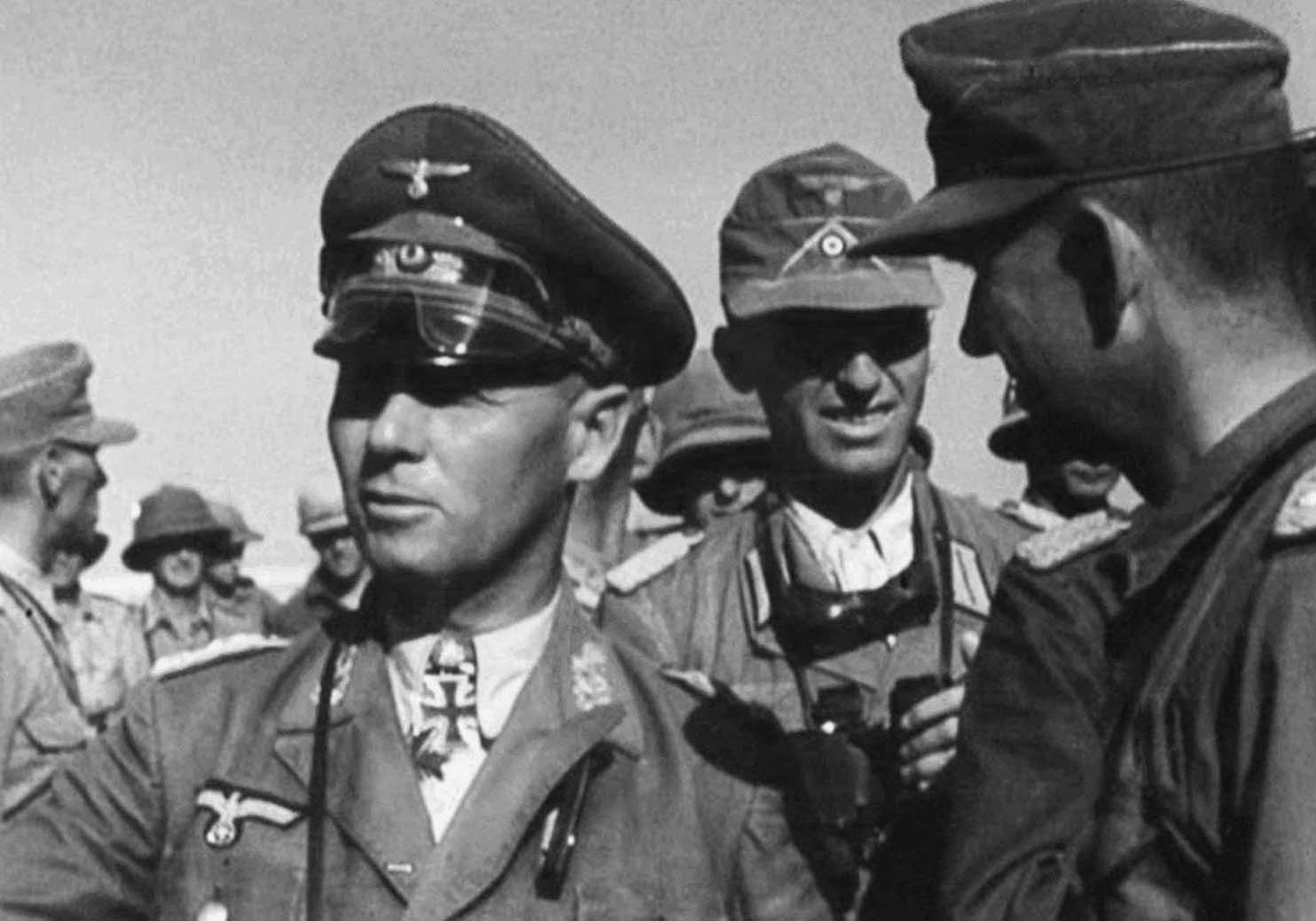Why was one of Nazi Germany's best tank commander, Erwin Rommel, sent to Africa instead of being sent to lead in Barbarossa?